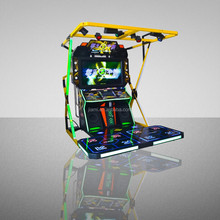 "King of Dancing - 55""LCD Coin Operated Electronic Arcade Entertainment Dancing Game Machine"