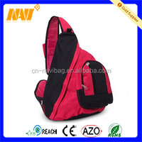 Triangle red cute sling bag for girls