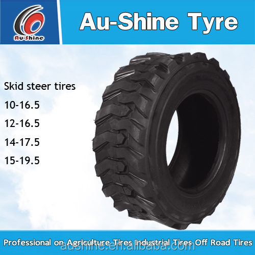 Chinese factory bobcat skid steer tire rims 10-16.5