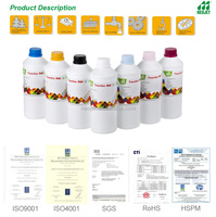 Korea High Quality Sublimation Ink for Epson Roland Mimaki Mutoh DX5 DX7 T-shirt inkjet printer