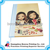 full color cheap hardcover book printing with dust jacket