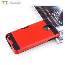 Most popular new glow mobile phone covers cases for samsung note 3 bumper phone case