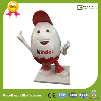 custom Outdoor Garden Statue, Cartoon FRP Figure Sculpture, Huge Figurine Model