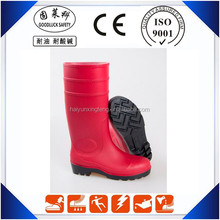 Waterproof Winter Safety Working Boots PVC Steel Toe Boots