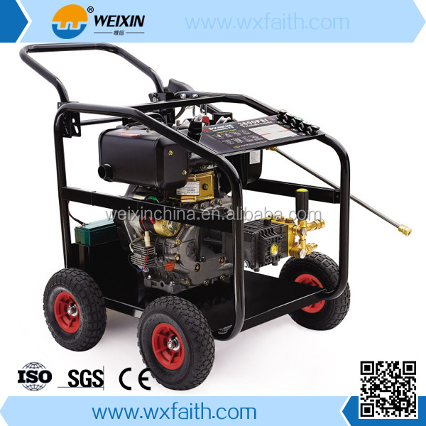 Steel Body Portable Gasoline Powered High Pressure Jet Washer