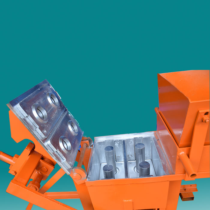 Compressed Earth Block QMR2-40 Small Cement Interlock Machine/ Manual Fly Ash Brick Making Machine