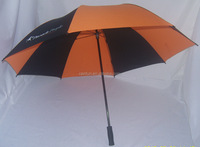 Top quality golf manual umbrella with carbon fiber frame