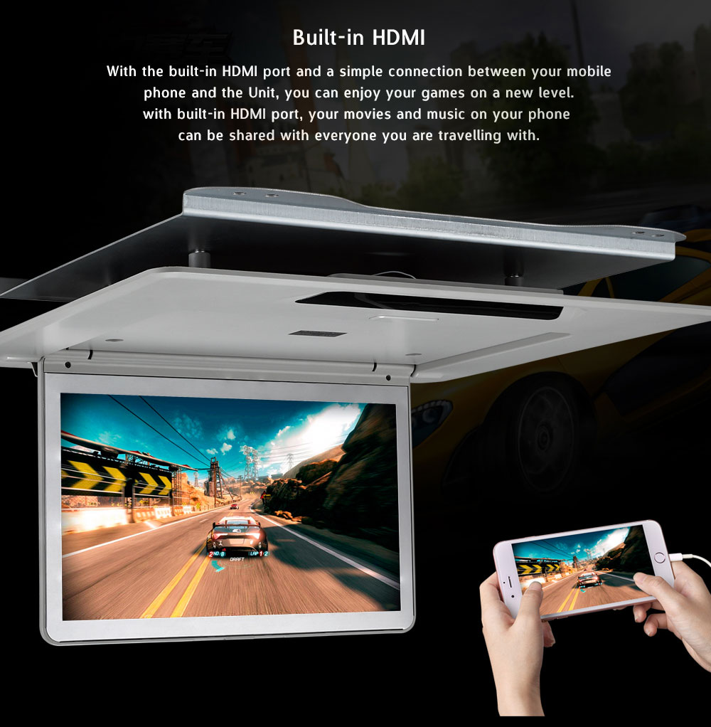 13.3inch roof mount monitor for TOYOTA ALPHARD