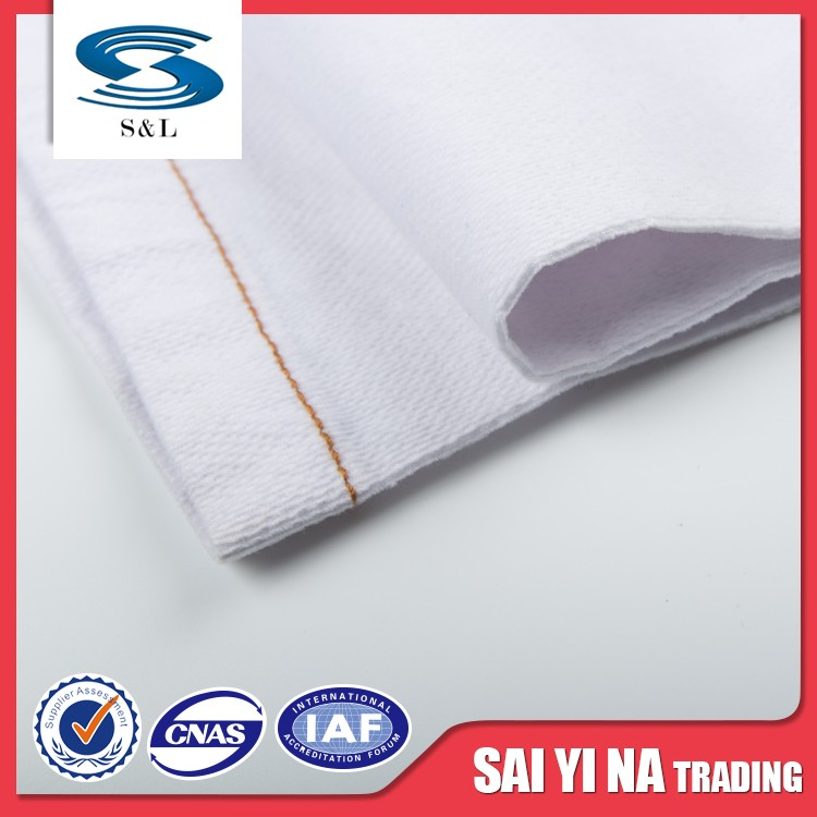 Wholesale lightweight dress textiles white poly cotton fabric rolls
