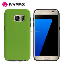 Candy color TPU+PC cellphone case for Samsung galaxy s7 protective covers