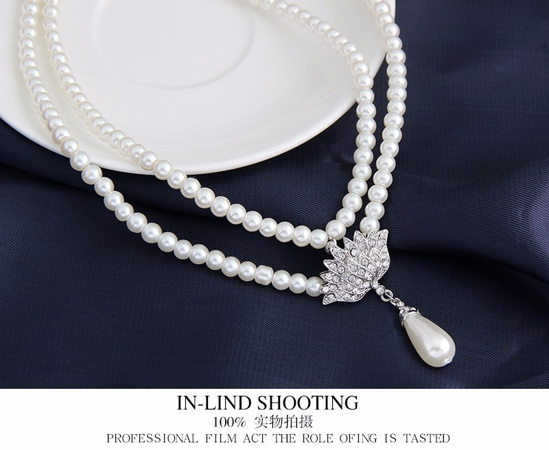 Fashion Pearl Jewelry Set In Jewelry Sets Wholesale NSDR-0003