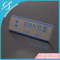 Beautiful Casting Stainless Steel engraving nameplate