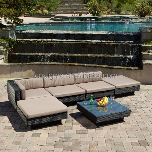 2017 Sigma all weather royal gardern resin wicker lowes patio furniture sale