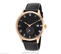 Stylish men black vogue wholesale watch China waterproof Sapphire Crystal Ceramic Watch