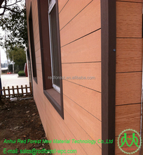 Environment Friendly WPC plastic wood Decorative Exterior Wall Panels boards