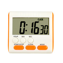 High quality large screen LCD display digital counting down kitchen timer wholesaler