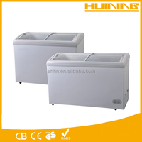 266L freezers good quality factory price portable mini deep freezer