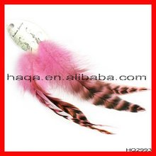 Wholesale fashion feather earrings