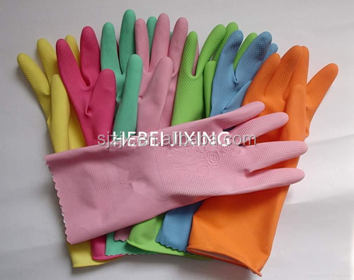 colorful and high quality Household Latex Gloves