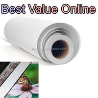 "17"" / 432MM GLOSSY POLYESTER INKJET CANVAS ROLL 240GSM 18M GLOSS"