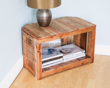 Custom made solid wooden console table,wood corner table for TV