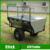 Small ATV box trailer with 300mm height cage