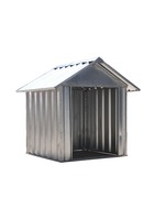 china supplier waterproof new products metal dog house