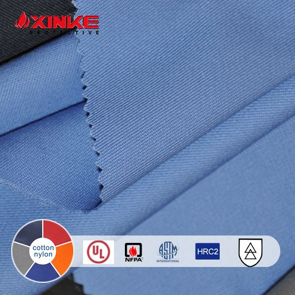 Xinke 210g Aramid arc flash protective fabric factory