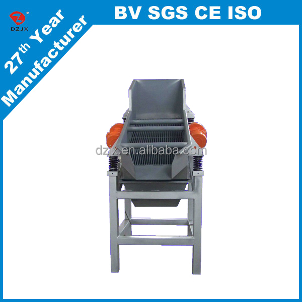 Cost-effective soda lime industry linear vibrating screen sieve