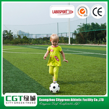 Hot selling soft artificial no infill decorative synthetic soccer sports floor fake grass carpet turf mat pitch playfield