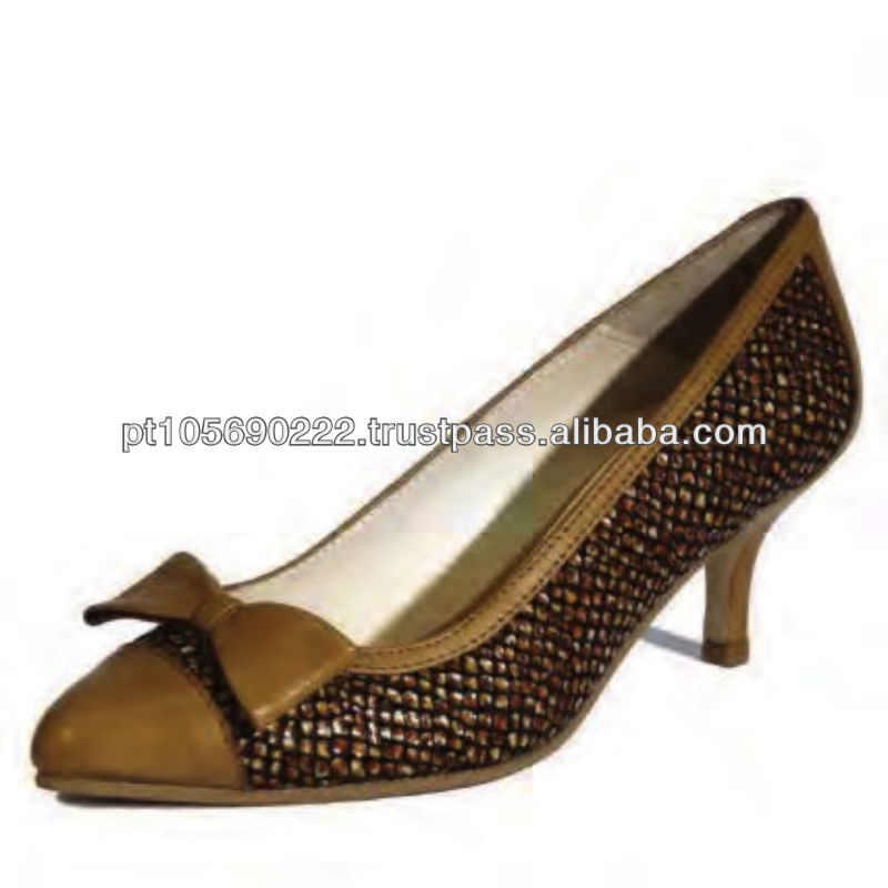 Shoes in leather Dido 9637