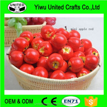 15 pc mini Simulation RED Apples Artificial Fake Fruit Decor