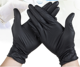 Cheap Black Medical disposable latex surgical examination sterile gloves