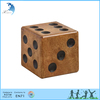 Dice manufacturers polyhedral wooden 6 sided engrave custom dice