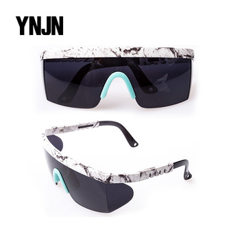 Made in China taizhou YNJN new model safety glasses dust uv400 sunglasses