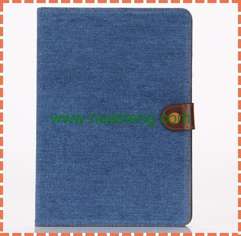 New Cowboy Jeans Leather Case Smart Cover For ipad Air 2