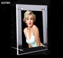 Hot Selling 9'' 10'' A4 A5 Size Customized Certificates Sexy Girl Picture Frame Acrylic Women Sex Photo Frame