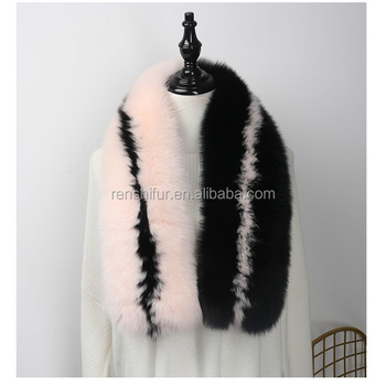 wholesale Real Fox Fur Scarf for lady