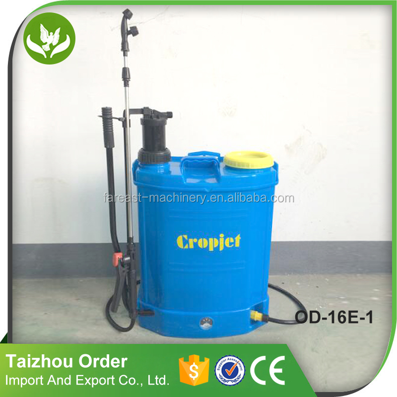 OD-18E-1 2 in 1 16L battery and manual sprayer