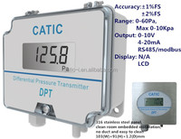 differential china pressure transmitter calibration with LCD display