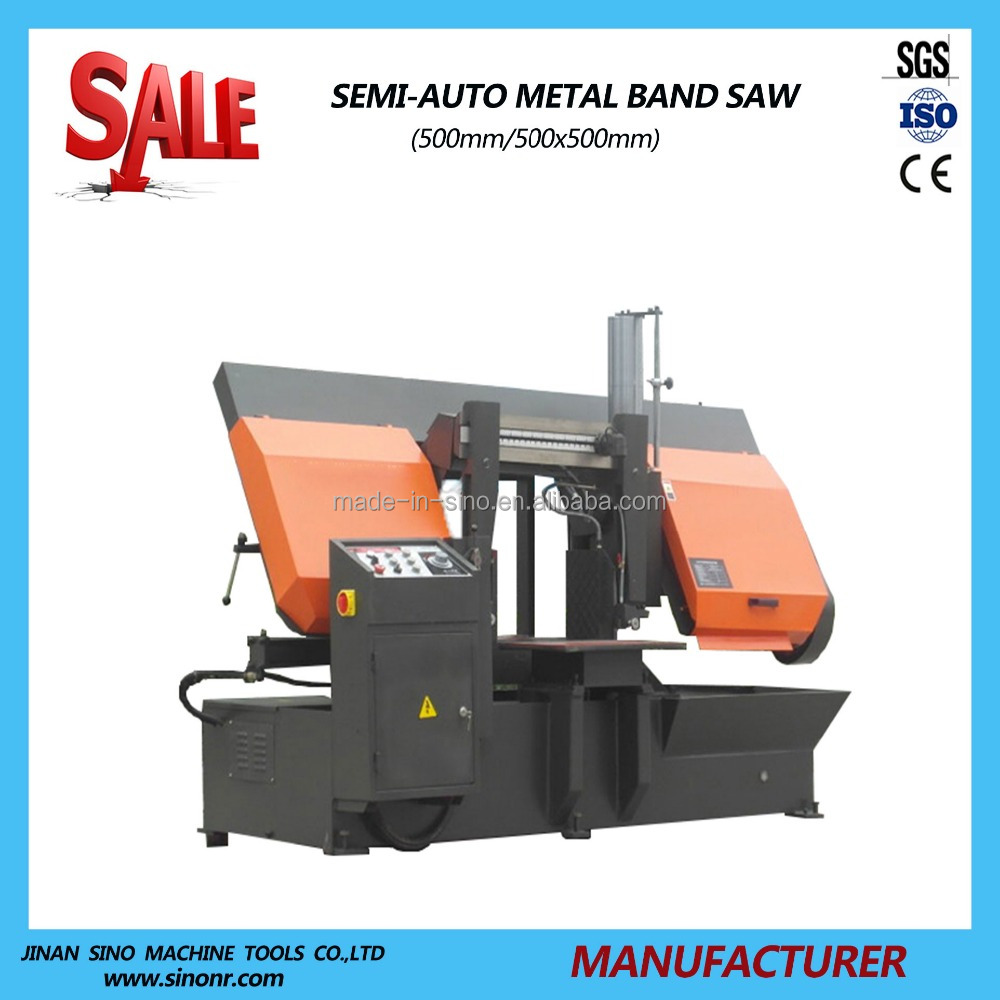 Steel Band Saw Machine GZ4250 Steel cutting machine