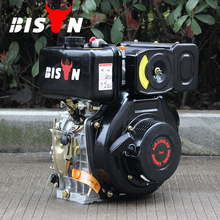 BISON(CHINA) Taizhou Air Cooled Water Pump Air Compressor 1 Cylinder 12 hp Diesel Engine