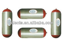 TYPE II compressed natural gas steel cylinder for vehicle with ISO11439 standard