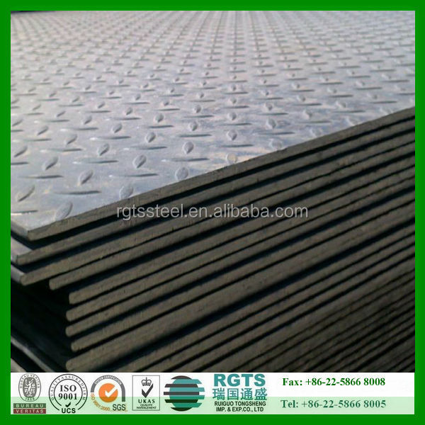 low price steel checker plate aluminium checker plate from China qualified supplier