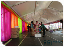 One high peak in the middle 10x27 meter canopy tent for exhibition