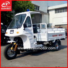 2015 perfect design durable cargo box 150cc air cooled petrol tricycle with front windshield africa