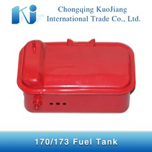 Small diesel engine parts fuel tank for 170f 173f diesel engine