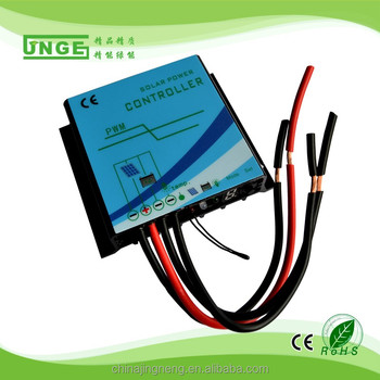 10A 12V/24V Auto pwm solar charge controller IP68 waterproof LED Display street light for home solar system