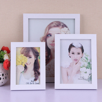8 inch(15*20cm)MDF photo picture frame with back stander good finished and nice packing