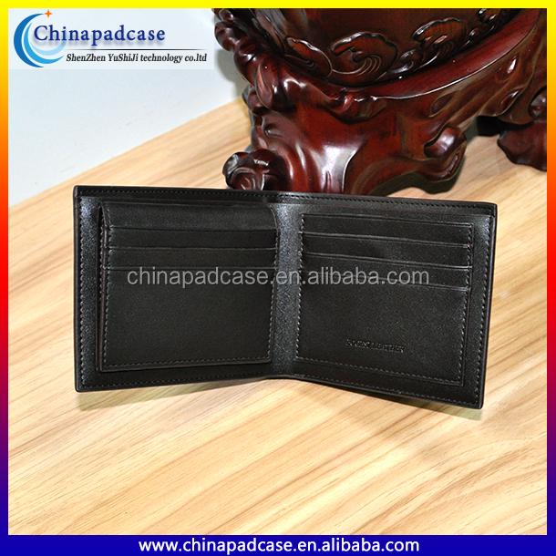 New arrival 2016 Hot sale high quality Bogesi short brand names men's wallet business wallet